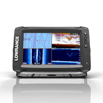 Lowrance Elite 9 Ti with Totalscan and Charts $1500.00